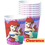 Little Mermaid Cups