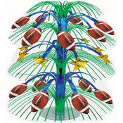Football Cascade Centerpiece 18in