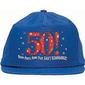 50 - A Year to Celebrate Baseball Cap