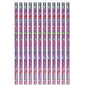 Glitzy Girl Pencils 12ct