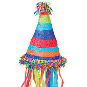 Birthday Hat Pinata 17in
