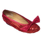 Adult Wizard of Oz Ruby Slippers Shoe Covers
