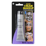 Silver Metallic Cream Makeup 1oz