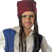 Child Jack Sparrow Bandana with Hair