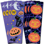Spooky Halloween Stickers 8 Sheets