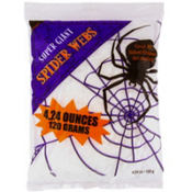 White Stretch Spider Web 4.24oz