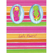 Flip Out Invitations 8ct