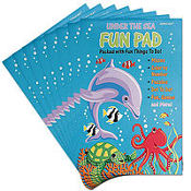 Under the Sea Fun Activity Pads 8ct
