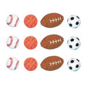 Multi Sport Bounce Balls 12ct