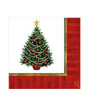 Twinkling Tree Lunch Napkins 100ct