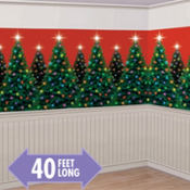 Christmas Trees Room Roll 40ft