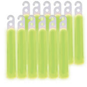 Green Glow Stick Necklaces 4in 12ct