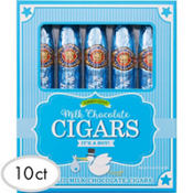 Blue It's a Boy Chocolate Cigars 10ct