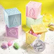 Multicolor Block Baby Shower Favor Kit 20ct