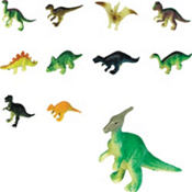 Prehistoric Dinosaurs Mega Value Pack 48ct