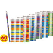 Pencil Favor Value Pack 60ct