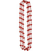 Mini Hearts Bead Necklaces 32in 3ct