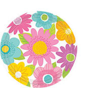 Spring Fling Dessert Plates 8ct
