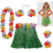 Child Hula Skirt Kit
