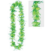 Green Tinsel Lei 40in