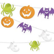 Cute Halloween Characters String Decoration 100ft