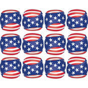 Patriotic Soft Play Balls 12ct