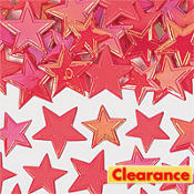 Iridescent Red Star Table Sprinkles 60ct
