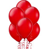 Red Latex Balloons 12in 15ct