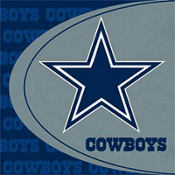 Dallas Cowboys Lunch Napkins 16ct