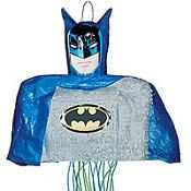 Pull String Batman Pinata 18in