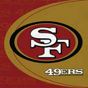 San Francisco 49ers Lunch Napkins 16ct