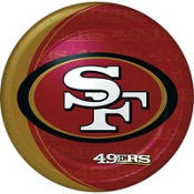San Francisco 49ers Lunch Plates 8ct
