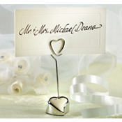 Loving Heart Place Card Holder Wedding Favor