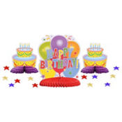 Birthday Table Decorating Kit 15ct