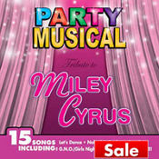 Tribute to Miley Cyrus CD