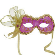 Purple Angelina Masquerade Mask