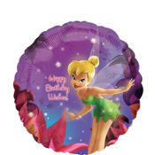 Foil Tinker Bell Wishes Balloon 18in
