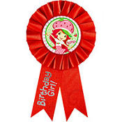 Strawberry Shortcake Guest of Honor Ribbon