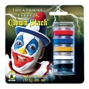 Clown Makeup Stack