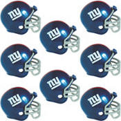 New York Giants Helmets 8ct