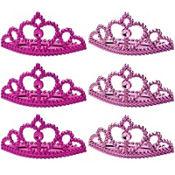 Pink Princess Tiaras 6ct