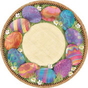 Easter Elegance Lunch Plates 8ct