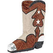 Cowboy Boot Pinata 13in