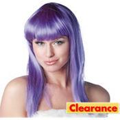 Eden Purple Premium Wig