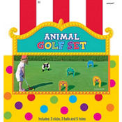 Animal Golf Set 11pc