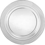 Clear Premium Plastic Dinner Plates 16ct