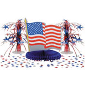 Patriotic Table Decorating Kit 11pc