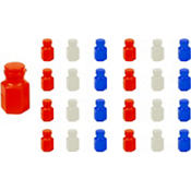 Red, White & Blue Bubbles 24ct