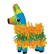 Pinata Jumbo Invitations 8ct