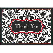 Stylish Statement Thank You Notes 8ct